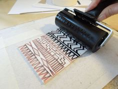 Printmaking How To On Pinterest