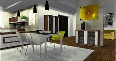 YellowInSIDE dinning room