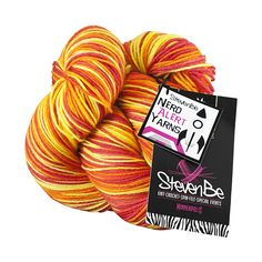 Cunning: sold exclusively at StevenBe in Minneapolis, the yarn is inspired by Firefly ($33.25)