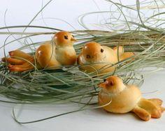 Bread Roll Easter Chicks