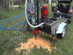 Perfuratriz para poços artesianos hidráulica - NILBRASIL - YouTube
