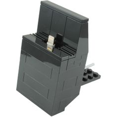 Questo e fantastico... LEGO Custom: iPhone 5 Dock Kit Black