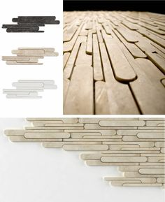 Stone More Decorative Natural Wall Lining by Sule Koc