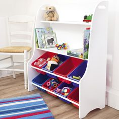 White Toy Sorter from Jojo Maman Bebe - what a great storage solution! £85