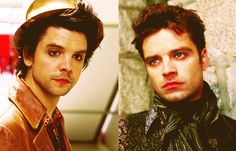 Mad as a Hatter: Andrew Lee Potts and Sebastian Stan