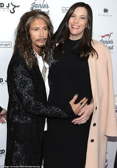 Daddy's girl: Liv is the daughter of Aerosmith rocker Steven Tyler, 69, who took to social...
