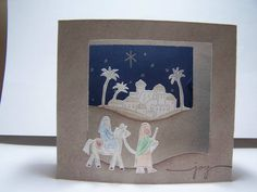 #SU City of David Diorama Card by AmyStamper - Cards and Paper Crafts at Splitcoaststampers