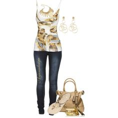 """Daily Denim June 26, 2013"" by arjanadesign on Polyvore"