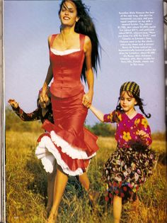 """Photo-shoot called """"Gypsy Soul"""" is from Vogue 1992!  blog.bohoglamour.com"""