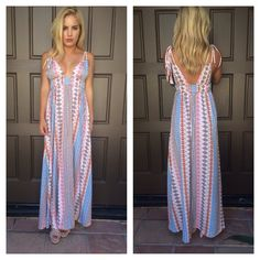 Dutch You Know Maxi Dress