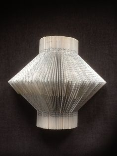 Folded book #art #folded #handcrafts #gifts #recycled