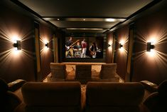 Screen Excellence :: Home Cinema Acoustic Transparent Screens Cinema Room Small, Home Cinema Room, Best Home Theater, Home Theater Design, Transparent Screen, Small Couch, Custom Screens, Home Cinemas, Keep It Simple