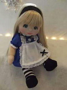 Bellas muñecas de trapo
