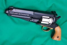 Westlake Matchmaster This is a custom job done to revolvers by the British gunsmiths at Westlake Engineering. It can be done to different models of revolvers and calibers.