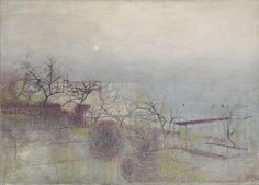Victor Pasmore 'The Hanging Gardens of Hammersmith, No. © estate of Victor Pasmore / DACS 2014 Abstract Landscape, Abstract Art, Landscape Paintings, Victor Pasmore, Riverside Garden, Tate Gallery, Tate Britain, Framed Canvas Prints, Abstract Styles