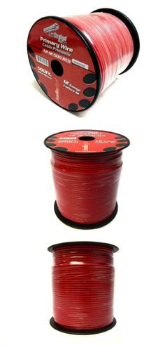 Nippon Audiopipe 12 Gauge 500Ft Primary Wire Red | Gauges and Products