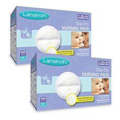 Lansinoh Nursing Pads 2 Packs of 100 200 Count Stay Dry Disposable Breast Pads for sale online Baby Basinets, Lansinoh Nursing Pads, Postpartum Must Haves, Levtex Baby, Breastmilk Storage Bags, Delivering A Baby, Crawling Baby, Baby Must Haves, Hospital Bag