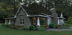 Craftsman Style House Plan - 3 Beds 3 Baths 2267 Sq/Ft Plan #120-181