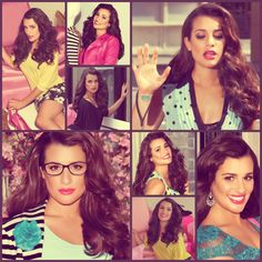Lea Michele Candie Commercial hair and makeup