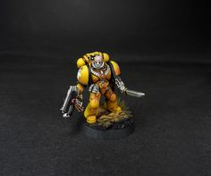 Imperial Fists by Dave Paints