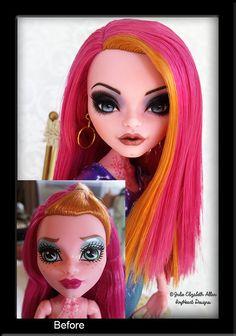 Odette - Before and After by IvyHeartDesigns.deviantart.com on @DeviantArt