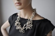 leather necklace by miettefr