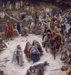 What Christ saw from the cross … James Tissot…