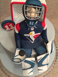 #hockey #goalie #cake #slovan