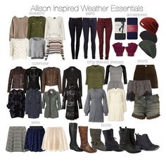 Winter/Fall inspired by Allison Argent of Teen Wolf