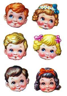 Vintage Book Art, Vintage Paper Dolls, Vintage Crafts, Valentines Art, Vintage Valentines, Vintage Pictures, Vintage Images, Paper Toys, Paper Crafts