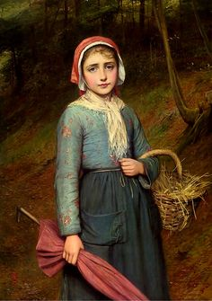 1000 images about peasant girls maids 19th c art on pinterest william adolphe bouguereau. Black Bedroom Furniture Sets. Home Design Ideas