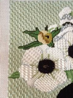 needlepoint flowers, Melissa Shirley canvas