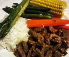 Recipe Honey Soy Beef by Thermie With Me, learn to make this recipe easily in your kitchen machine and discover other Thermomix recipes in Main dishes - meat. Thermomix Recipes Healthy, Healthy Cooking, Meat Recipes, Gourmet Recipes, Food Processor Recipes, Dinner Recipes, Cooking Recipes, Recipies, Savoury Recipes