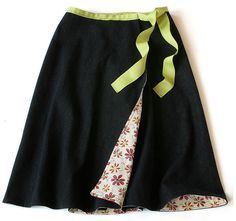 DIY Wrap Around Skirt Tutorial - J Fabrics Store Newsletter Blog