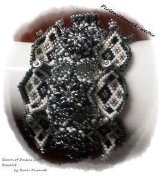 Perlenschmuck-Wetter: Crown of Daisies Cuff Bracelet