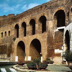 Aurelian Walls, Rome,  #aurelianwalls  #wallsofthecity #ancientrome #ancienthistory #ancientworld #history #rome #italy #travel #travelling #historylovers #romanempire #romans #eternalcity #oldphoto