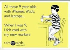 After working at Jump+ for a few months now it boggles my mind how parents will buy their children who are (5 years old and younger) an iPad or a laptop. When I was younger I would get action figures, barbies, and games for my gameboy but definitely not something that was over $300.