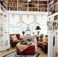 If I had to choose between a walk in closet or a library, I would choose library hands down
