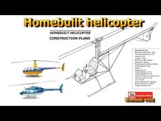 Homemade world - Homebuilt helicopter - YouTube