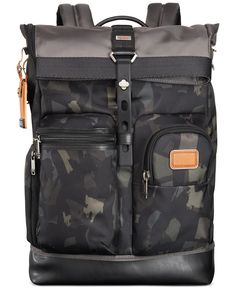Tumi Alpha Bravo Luke Roll-Top Backpack Ebags BackPack Tumblr | leather backpack tumblr | cute backpacks tumblr http://ebagsbackpack.tumblr.com/