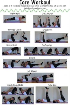 Core workout - Fueled by Coffee and Fitness. core workout Core workout - Fueled by Coffee and Fitness. At Home Core Workout, Core Workout Routine, Beginner Core Workout, Core Workout Challenge, Routine Work, Basic Workout, Workout Schedule, Mma Workout, Pilates Workout