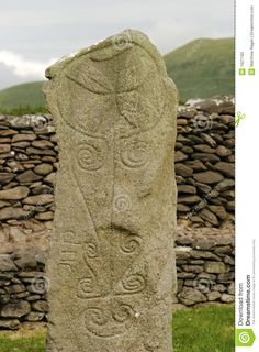 celtic standing stone - Google Search