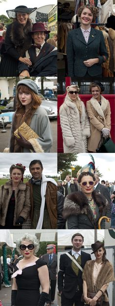 Some of the best dressed we saw at Goodwood Revival 2012, from our latest blog post! Gx