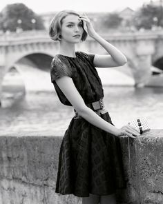 Arizona Muse by Mark Segal for the Louis Vuitton 2012 Cruise Catalogue