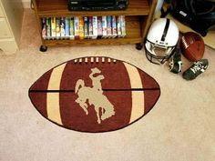 University of Wyoming Football Rug