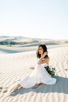 Jadie Jo Photography / Bridals / Wedding Photography / Free People / Sand dune bridals