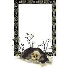 12.png ❤ liked on Polyvore featuring halloween, frames, borders, backgrounds, filler and picture frame