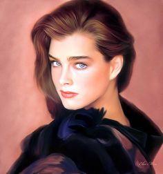 Brooke Shields by Ebn Misr www.facebook.com/Ebn.Misr.gallery