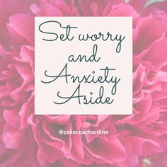 @cakecoachonline posted to Instagram: Have you ever heard the saying - 'worry is like a rocking chair - it gives you something to do but gets you nowhere'. It is true - worrying about things that are outside of your control will not get you very far. So set worry and anxiety aside. Think of the things you CAN do to help a situation instead. . . . . . . #smileoftheday #karenmacfadyen #cakecoachonline #dailyinspiration #motivator #dailymotivation