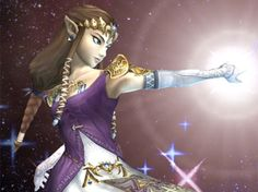 I am princess Zelda!!